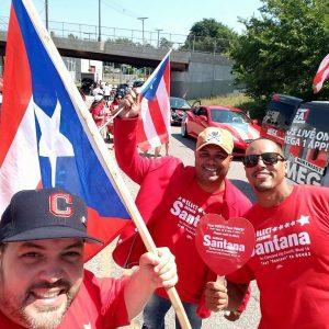 Santana supporters