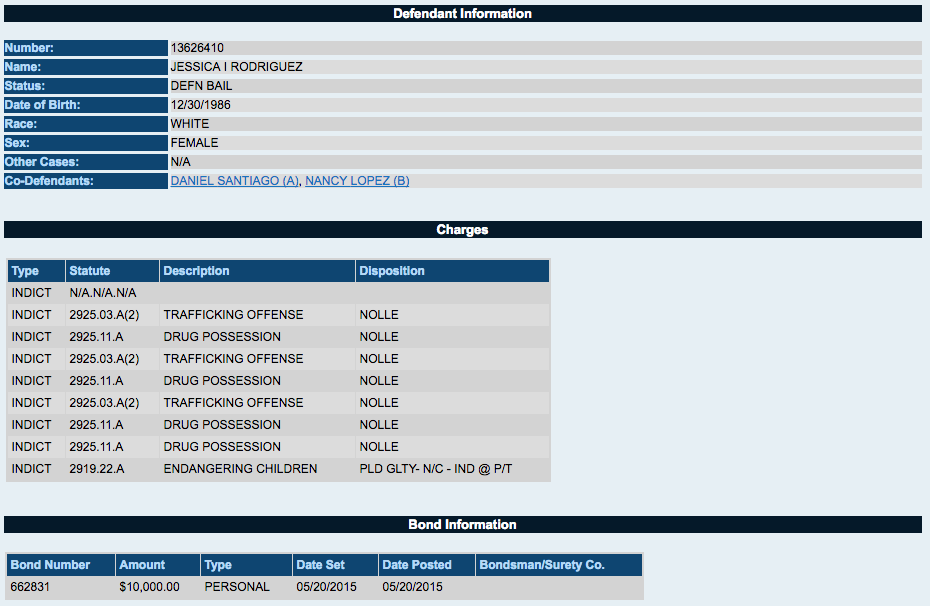 Cuyahoga County Court Docket Information