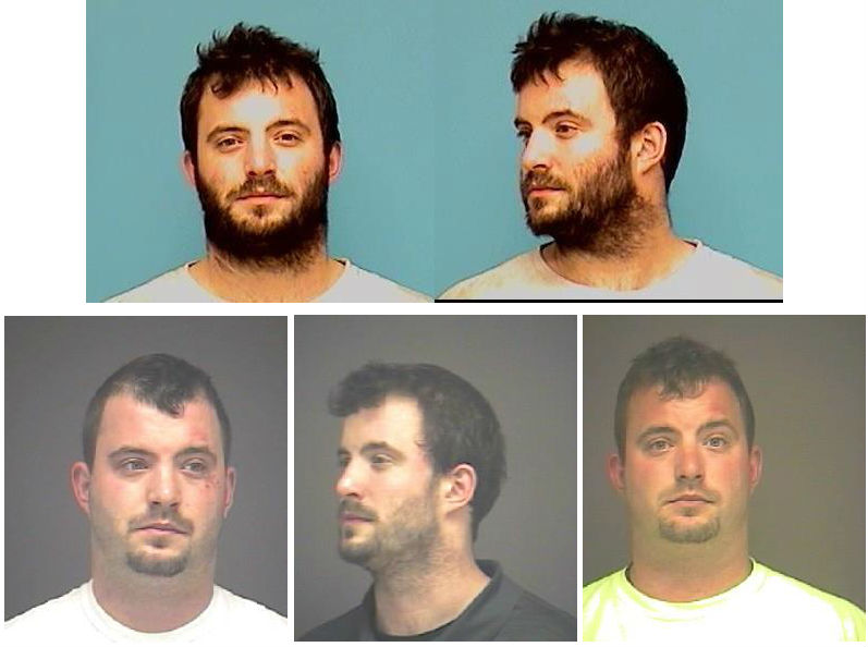 Just a few booking photographs of George Townsend from various Ohio jails.