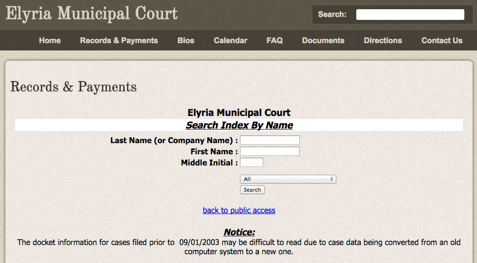 Elyria Municipal Court Illegally Makes Your Social Security
