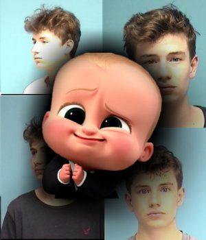 baby faced burglar