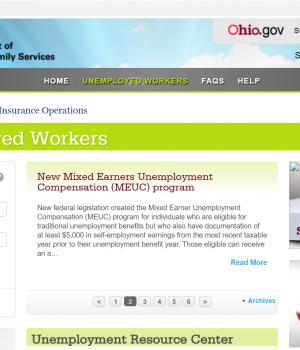 ohio unemployment scam